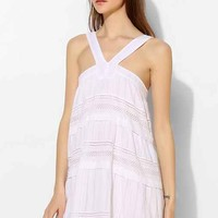 d.RA Shanna Tiered Eyelet Sundress- White