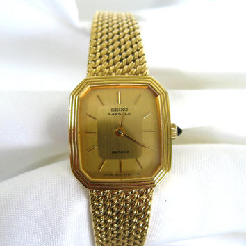 Vintage Gold Seiko Bracelet Watch