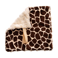 BB Emerald Cream Giraffe Soft Pacifier Binky Baby Blanket