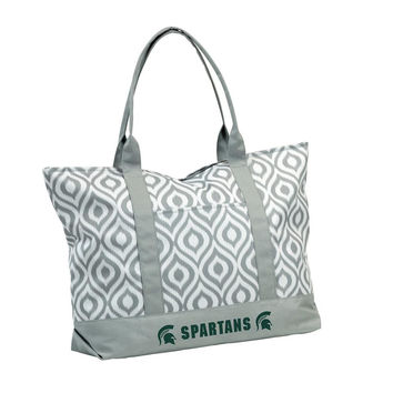 Michigan State Spartans NCAA Ikat Tote