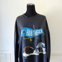 Vintage Carolina Panthers Sweatshirt Size X-Large 1993