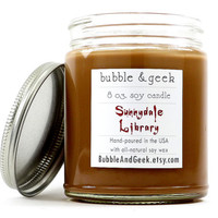 Sunnydale Library Scented Soy Candle - Buffy