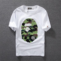 Men's Bape camo A Bathing Ape T-Shirt