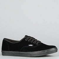 The Authentic Lo Pro Sneaker in Black Velvet : Vans Footwear : Karmaloop.com - Global Concrete Culture