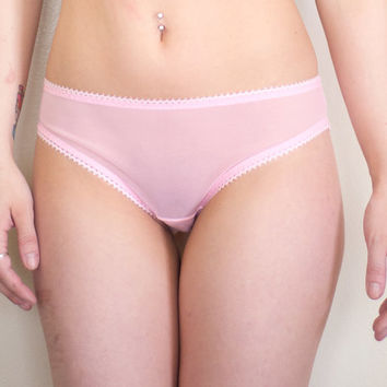 Sweet Tooth Sheer Panties - Rose Quartz