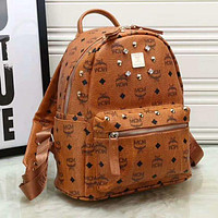 MCM autumn and winter trend rivet backpack handbags Messenger bag