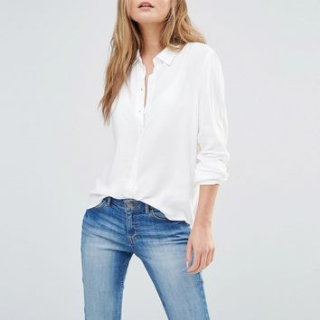 J.D.Y White Shirt at asos.com