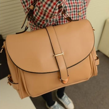 Korean Vintage One Shoulder Fashion Bags [6046897601]