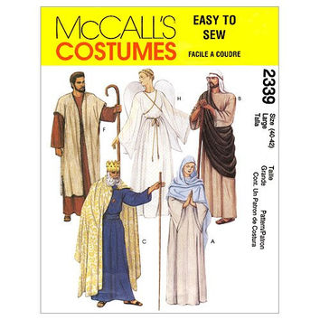 McCall's Patterns M2339 Christmas Costumes, Size XLG