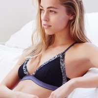 Free People Sequin Trim Triangle Bra