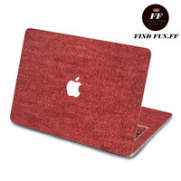 macbook pro decal macbook air decal MacBook Pro sticker Decal laptop 红毛线-053