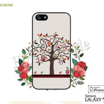 Phone case iPhone 5/5S/5C Case, iPhone 4/4S Case, The tree of life, S3 S4 S5 Note 2 Note 3 Case for iPhone-B0100