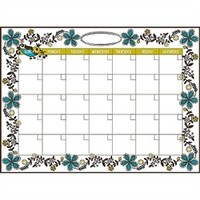 Anya Monthly Calendar - Peel N Stick Wall Decorations College Wall Calendar Cool Dorm Items Girls