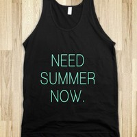 Need Summer Now Tiffany Typography