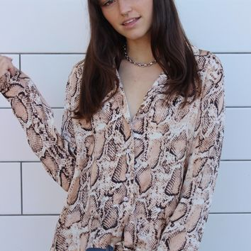 """Snakes & Lovers"" Top"
