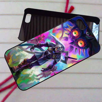 Legend of Zelda majoras - case iPhone 4/4s,5,5s,5c,6,6+samsung s3,4,5,6