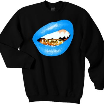 Trill Grill (BlueLips) sweatshirt *choose t-shirt color and size