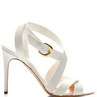 Criss-Cross Patent Leather Sandals by Rupert Sanderson - Moda Operandi