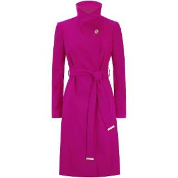Ted Baker Fuchsia Nevia Belted Wrap Coat | Harrods