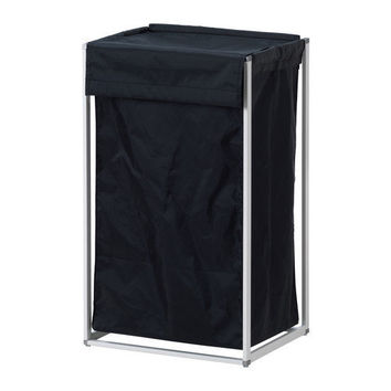 ANTONIUS Laundry bag with stand - IKEA- BLACK