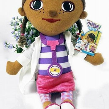 NEW 28cm Cartoon animated Doc McStuffins little Doctor Girls Toys Stuffed Dolls Brinquedos for kids Children baby toy Christmas gift (Size: 28 cm) = 1945907588