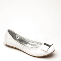 Bamboo White Faux Patent Leather Bow Flats @ Cicihot Flats Shoes online store:Women's Casual Flats,Sexy Flats,Black Flats,White Flats,Women's Casual Shoes,Summer Shoes,Discount Flats,Cheap Flats,Spring Shoes,Cute Flats Shoes,Women's Flats Shoes