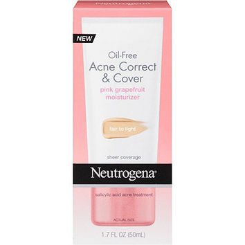 Neutrogena Oil Free Acne Correct & Cover | Ulta Beauty