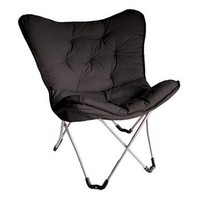 Student Lounge Black Butterfly Chair