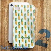 Cute Pineapples, Fruit - iPhone 4/4S, 5/5S, 5C Case and Samsung Galaxy S3, S4 Case.