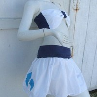 MY LITTLE PONY set Skirt and bow top Rarity MLP FiM Cosplay your size