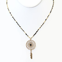 Sweet Dreams Necklace - BLACK - Necklace
