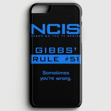 Ncis Gibbs Rule iPhone 6/6S Case