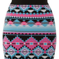 Lipsy Tribal Print Mini Skirt - Lipsy