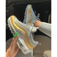 shosouvenir  Nike Air Max 97 Golden sneakers