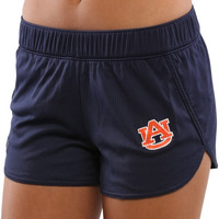 Auburn Tigers Under Armour Women's Performance Mesh Shorts – Navy Blue