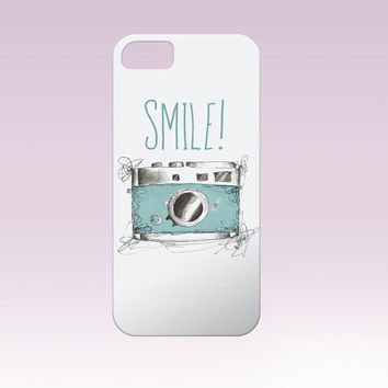 Smile! iphone case,camera iphone case, Iphone Case, Iphone 6 case , Iphone 5 case, Iphone 4 case, custom iphone cover