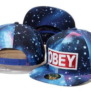 VONEED Obey Snapback Caps Cap Snapback Hat - Ready Stock