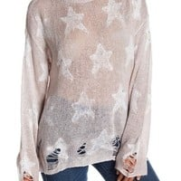 WILDFOX | Seeing Stars Knit Sweater | Nordstrom Rack