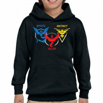 POKEMON GO TRIO TEAM Youth Hoodie