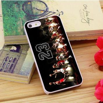 CREYUG7 Michael Jordan Air 23 iPhone 5|5S|5C Case Auroid