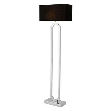 SILVER FLOOR LAMP | EICHHOLTZ STERLINGTON