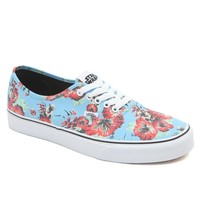 Vans - Star Wars Authentic Yoda Aloha Shoes - Mens Shoes - Blue -
