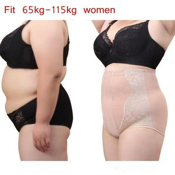 Plus Size Body Shaper Control Panties High Waist Trainer Pant Shapewear Slim Sexy Underpants Bodysuit Tummy Control ping
