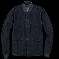 UNIONMADE - Journal Standard - UNIONMADE x J.S Homestead Cotton Nylon Indigo CWU Jacket in Navy