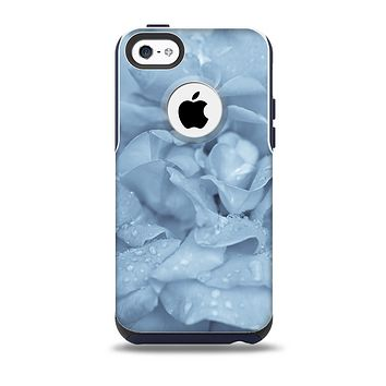 The Drenched Blue Rose Skin for the iPhone 5c OtterBox Commuter Case