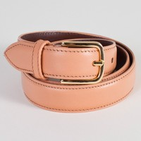rsalbtxdl - Unisex Basic Leather Belt