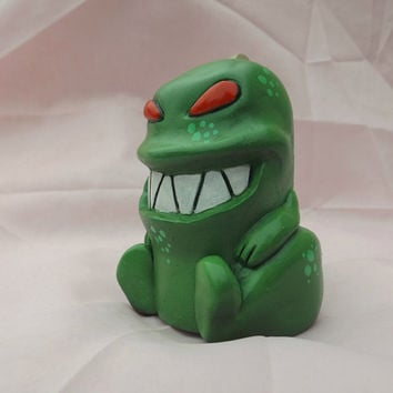 Thomas the Tyrannosaurus  Polymer Clay Dinosaur Figure