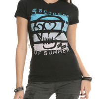 5 Seconds Of Summer Skull Girls T-Shirt