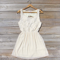After the Rain Dress in Cream
