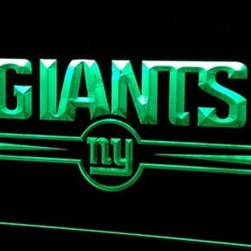 Ls263-g-NY New York Giants Bar 3D LED Neon Light Sign Customize on Demand 8 colors to choose